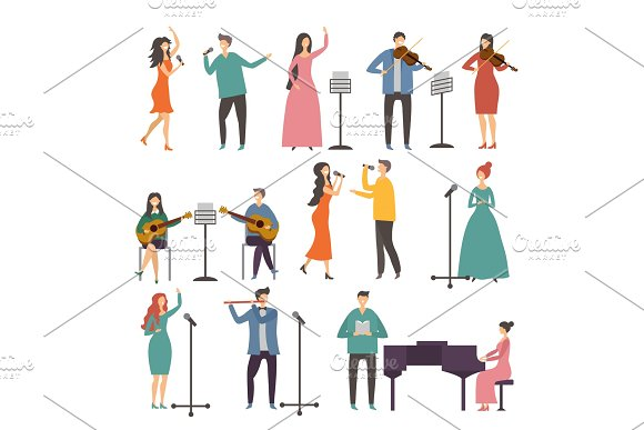 Concert And Music Groups Vocal Duets Musician And Singers Performances