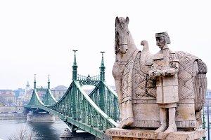 Liberty Bridge, Budapest.