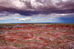 Nature Painted Desert, Arizona.
