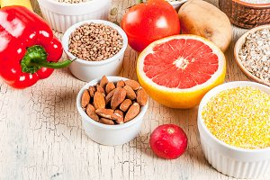 Healthy carbohydrates ingredients
