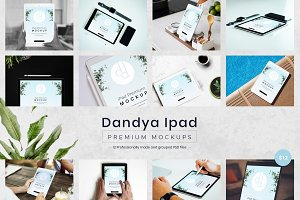 12 Beautiful iPad Mockups
