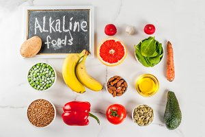 Alkaline diet ingredients