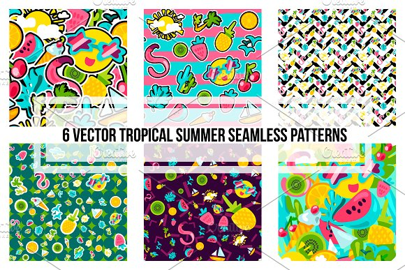 Tropical Summer Patterns
