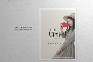 Grad Card Template
