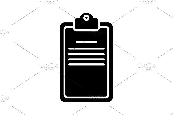 Clipboard Or Checklist Icon Vector