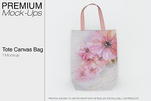 Tote Canvas Bag Mockup