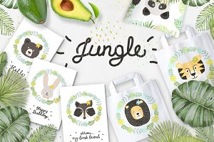 Jungle. Tropic set