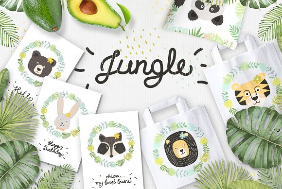 Jungle Tropic Set