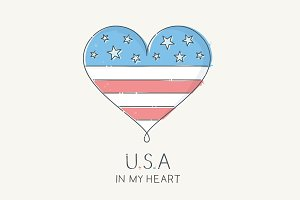 USA in My Heart