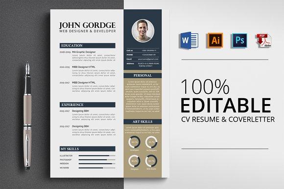 CV Resume MS Word Format