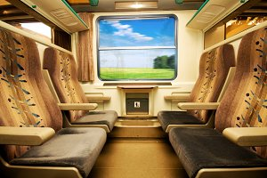 Travel in comfortable train