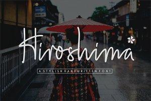 Hiroshima Handwritten Font