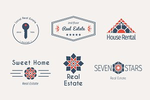 6 Real Estate Logo Templates