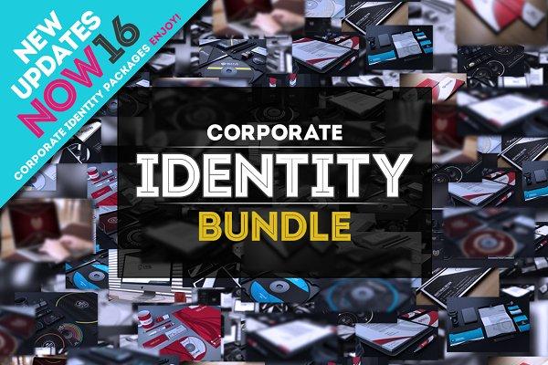 Corporate Identity Bundle +200 File…