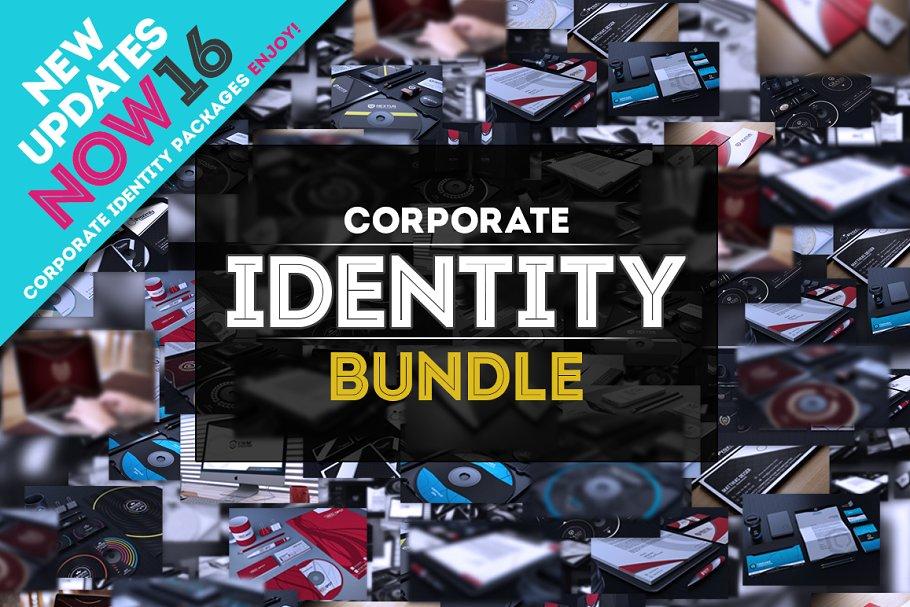 Скачать Creativemarket - Набор графики фирменный стиль Corporate Identity Bundle +200 Files (2018), Отзывы Складчик » Архив Складчин