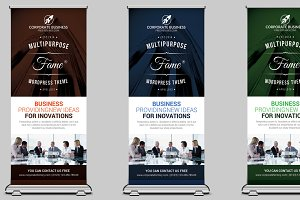 Event/Conference Roll Up Banner