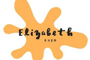 Elizabeth Bold Font