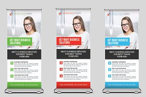 Global Youth Summit Roll Up Banner
