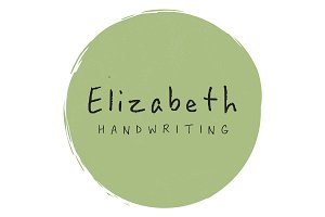 Elizabeth Handwriting
