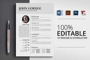 Word CV Design