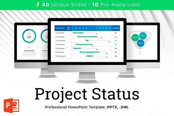 Project Status PowerPoint