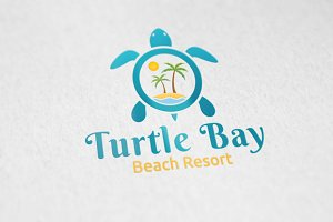 Turtle Bay - Logo Template