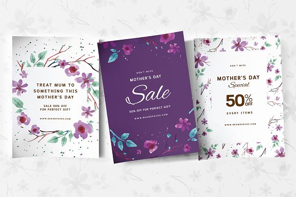 Mother's Day Poster Templates