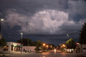 Storm Over Small Town