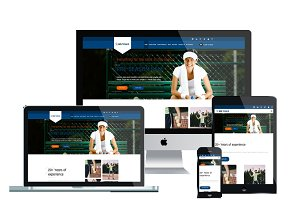 WS Tennis – Tennis WordPress theme