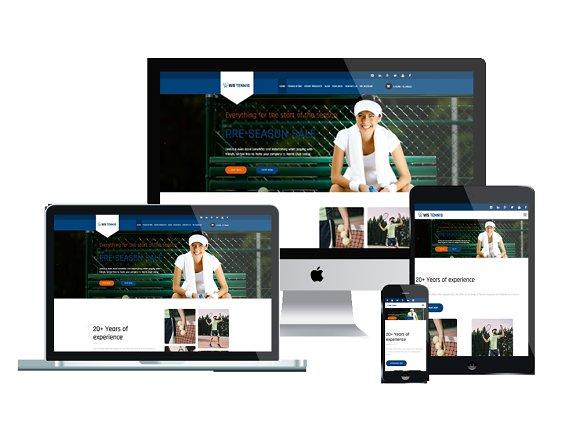 WS Tennis Tennis WordPress Theme
