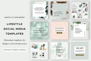 Lifestyle Social Media Templates