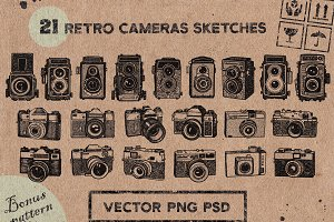 VINTAGE CAMERAS SKETCHES. vol.2