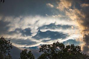 Beautiful Pre-Storm Clouds