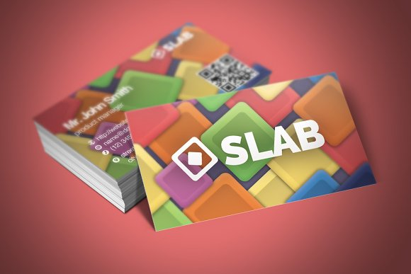 Slab Business Card