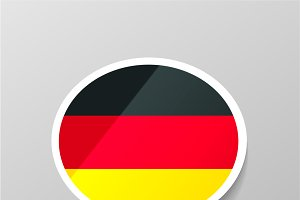 German language speech bubble
