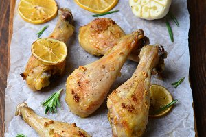 Baked Chicken Legs