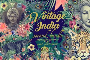 Vintage India Second Bundle (DIY)