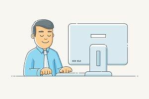 Computer Worker