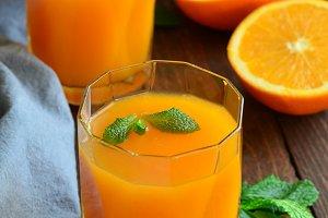 Pumpkin and Orange Drink