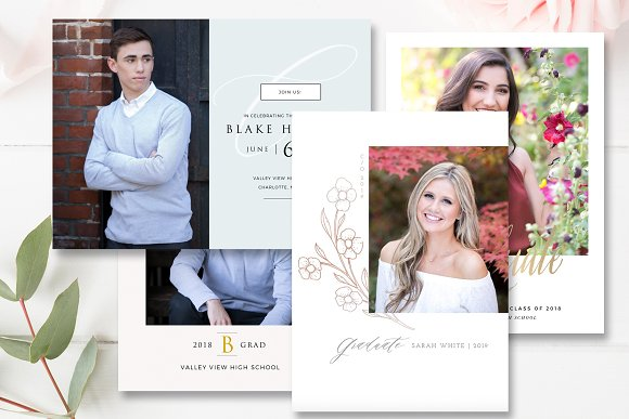 Senior Graduation Photo Card Bundle