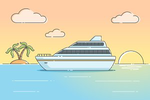 Summer Cruise Ship