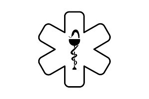 medicine (ambulance) icon. vector