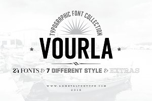Vourla Font Collection