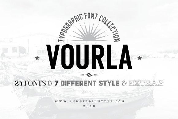 Vourla Font Collection