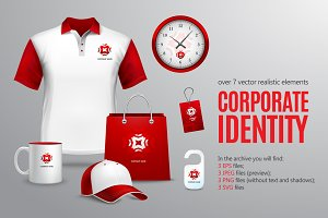 Corporate Identity Packs Set