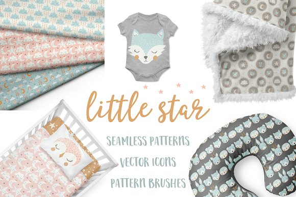 Little Star Pattern Collection