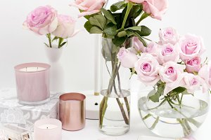 Garden of Roses, Styled Desktop