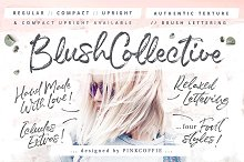 Blush Collective - 4 Fonts + Extras!