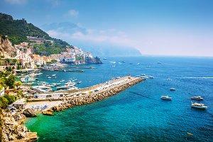 Vietri sul Mare, Amalfitan coast