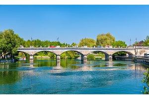 Pont-Neuf, a bridge in Cognac, France